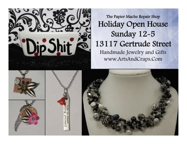Papier Mache Repair Shop Open House December 2012